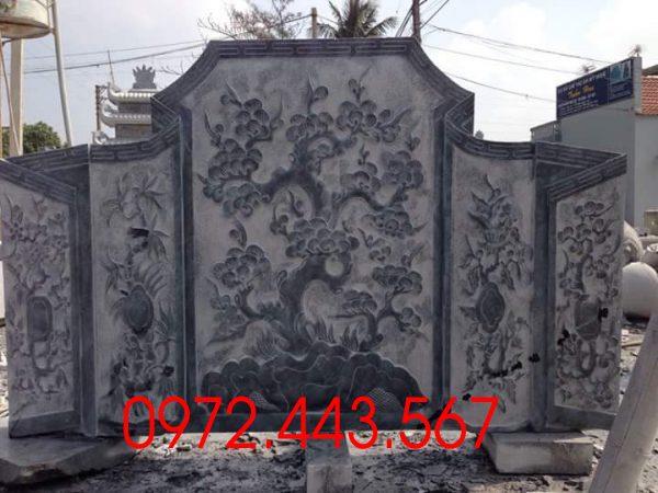 Mẫu chạm khắc cây Tùng